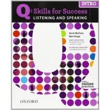 Q: Skills for Success Listening & Speaking
