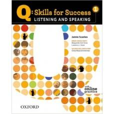 Q: Skills for Success 1 Listening & Speaking