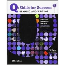 Q: Skills for Success 4 Reading & Writing