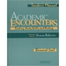 Academic Encounters Human Behavior Teacher's manual