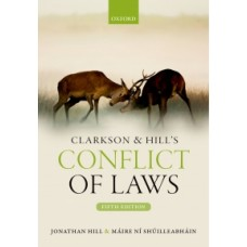 Clarkson & Hill's Conflict of Laws 5th edition 12 month rental