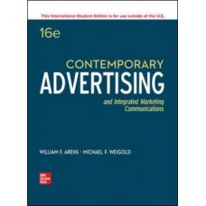 Contemporary Advertising and Integrated Marketing Communications 15 Edition 12 month rental