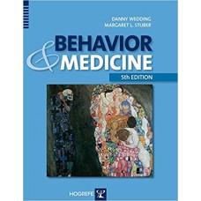 BEHAVIOUR AND MEDICINE 5ED REVISED